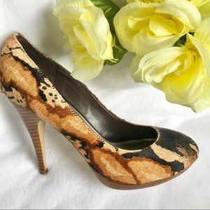 NWOT Authentic FERGIE Nacho Women's Heels Size 8 M